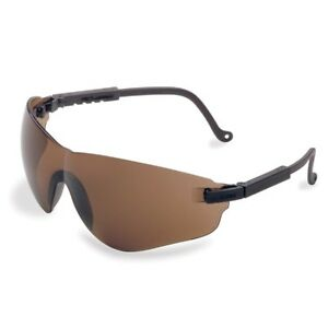 Uvex Falcon Safety Glasses With Brown Lens