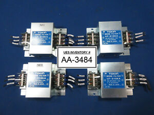 Tokin Lf 310ka Noise Filter Reseller Lot Of 4 Used Working
