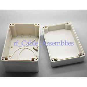 4x Waterproof Plastic Electronic Project Box Enclosure Case Diy Big 160 110 90mm