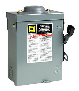 30 amp Outdoor Safety Switch