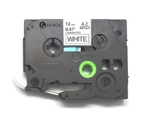 Us Stock 4pk Compatible Brother Label Tape Tz231 Tze 231 Black On White