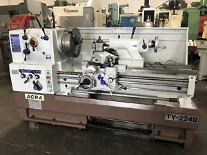Acra 22 X 40 Gap Bed Engine Lathe With 3 1 4 Thru Hole