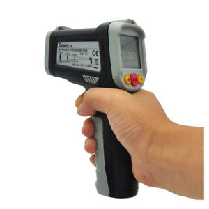 Mustool Ir Infrared Laser Temperature Thermometer Tester Digital Lcd Non contact