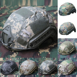 Tactical Airsoft Gear 7colors Helmet Cover Paintball Outdoor Fine Fast Military