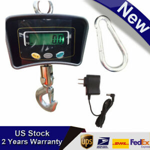 Crane Digital 500kg 1110lbs Hanging Industrial Weight Scale Lcd Display