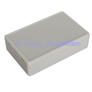 25x White Plastic Electronic Project Box Enclosure Case Diy 70x45x18mm l w h