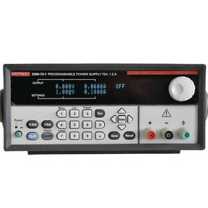 Keithley 2200 72 1 Bench Power Supply 72v 1 2 Amps Dc Programmable New In Box