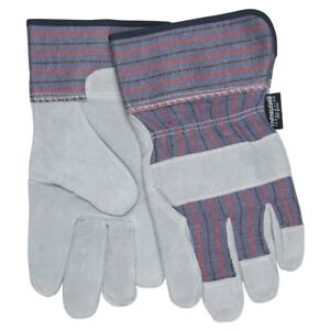 1 Dozen Memphis Thermosock Insulated Leather Work Gloves Large