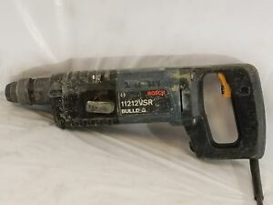 Bosch 11212vsr Bulldog Rotary Hammer Drill D handle 115v Double Insulated tp
