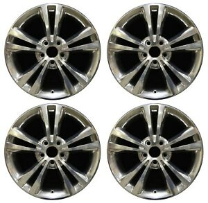 18 Lincoln Mkz 2010 2011 2012 Factory Oem Rim Wheel 3806 Full Polish Set