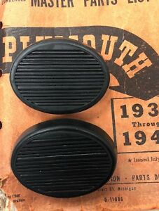 1935 1942 Plymouth Clutch And Brake Pedal Set Fresh New Stock
