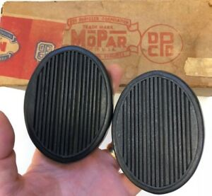 1946 1954 Plymouth Clutch And Brake Pedal Set Fresh New Stock