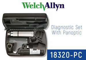 Welch Allyn 18320 pc Halogen Ophthalmic Set Including Panoptic Head