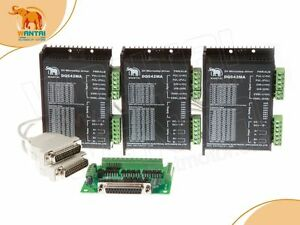 promote Usa Ship 3axis 3d Cnc Dq542ma Stepper Driver 50vdc 4 2a