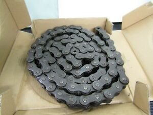 Link Belt 100 Roller Chain 100 Fr 1 1 4 Pitch Riveted 10 Feet Usa