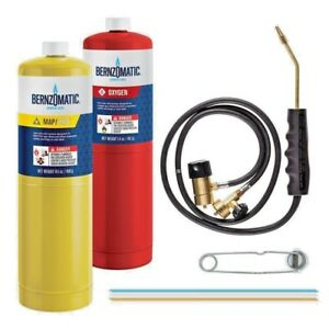 Bernzomatic Cutting welding brazing Kit With Oxygen