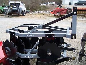 New 12x16 Titan 4 1 2 Ft 3 Point Disc Harrow we Can Ship Ask For A Quote