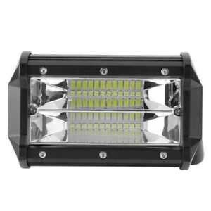5 Inch 72w Led Work Light Bar 6000lm Spotlight Lamp Offroad Driving Lamp Car
