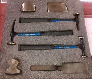 Martin Tools Auto Body Hammer Set Matco Awesome Snap On Complete Set