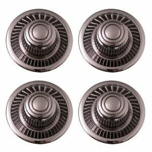 Set Of 4 Replacement Aftermarket Rally Derby Center Caps Hub Cover Fits 15