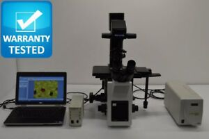 Olympus Ix53 Inverted Fluorescence Microscope