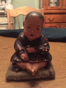 Antique Incense Burner Buddha