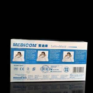 5 Boxes Disposable Face Mask Dental Medical Earloop Anti dust Mouth muffle
