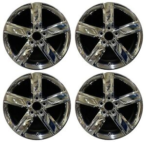 17 Toyota Camry 2012 2013 2014 Factory Oem Rim Wheel 69604 Pvd Chrome Set