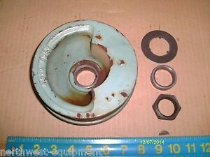 Accessory Pulley Balanced For 6v53 Detroit Diesel Engine P n 5121109 2 Groove