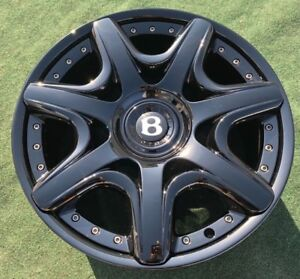 4 Genuine Mulliner Bentley Continentall Gtc Flying Spur Oem Factory 20 Inch Rare