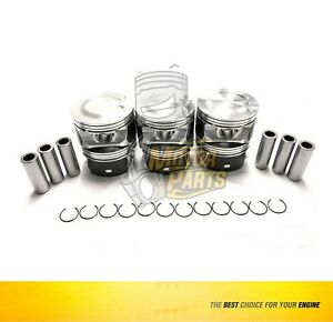 Piston Set Fits Gm Trailblazer Envoy Isuzu Ascender 4 2l Size 020