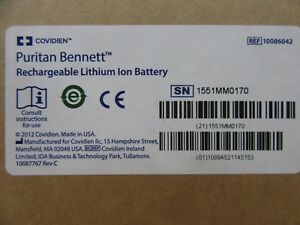 Covidien Puritan Bennett Rechargeable Lithium Ion Battery