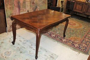 French Antique Oak Louis Xv Draw Drop Leaf Dining Room Gateleg Kitchen Table