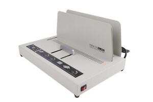 220v Electric Power Hot Melt Binding Book Binder Binding Machine For A4 Paper