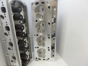 Complete Aluminum Cylinder Heads Sbf Ford 302 190cc 62cc 2 02 1 60