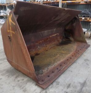 Loading Shovel Bucket With Cutting Edge To Suit A Range Of Wheel Loaders
