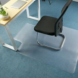 Premium Clear Chair Mat Carpet Protection Mat Low Medium Pile Computer Ch