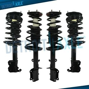 Front Rear Struts Coil Spring Assembly For Chevrolet Geo Prizm Toyota Corolla