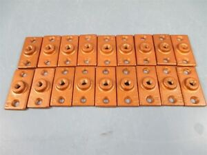 Flange Ceiling Copper Hanger 3 8 Lot Of 18 New