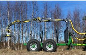 14 Log Loader And Trailer free Shipping Plus 1000 Off