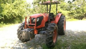 2008 Kubota Ms9540 95hp 4x4 Tractor 3 Rear Remotes 6 Speed Ready To Work