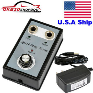 Usa Stock Car Spark Plug Tester Double Hole Detector Ignition Plug Analyzer Tool