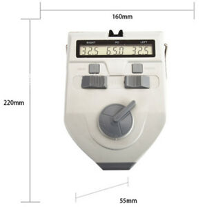 Medical Digital Led Optical Pupilometer Pd Meter Ophthalmic Equipme