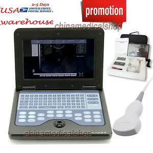 10 1 Inch Lcd Notebook Diagnostic Ultrasound Scanner Convex abdominal Probe Usa