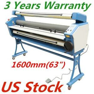 Usa Upgraded 63 Entry Level Wide Format Full auto Roll To Roll Cold Laminator