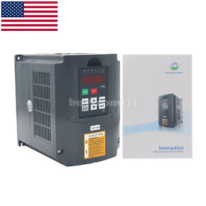 3hp 2 2kw 220v Variable Frequency Drive Inverter Vfd 3hp 10a Rs 485 Us