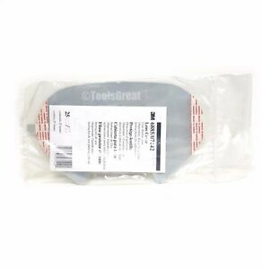 3m 6885 07142 Face Shield Mask Lens Protective Film Cover Pack Of 25