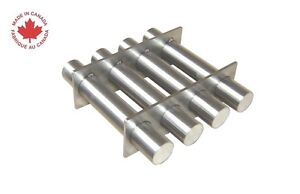 Industrial 6 Square Magnetic Hopper Grate With Rare Earth Magnets