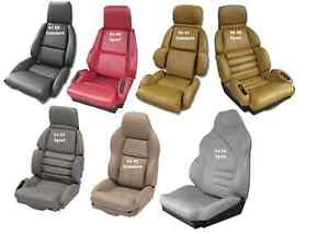 1984 1993 Corvette Standard Leather Seat Covers New