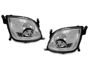 Replacement Fog Lights Lamp Pair For 2003 2006 Porsche Cayenne 955 S Turbo Base